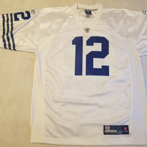 AUTHENTIC Throwback Colts #12 Andrew Luck jersey